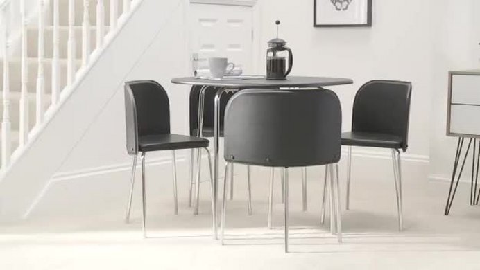 Buy Hygena Amparo Dining Table 4 Chairs Room Set