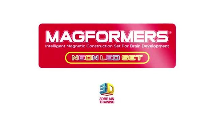 Buy Magformers Neon Led Set Construction Toys Argos