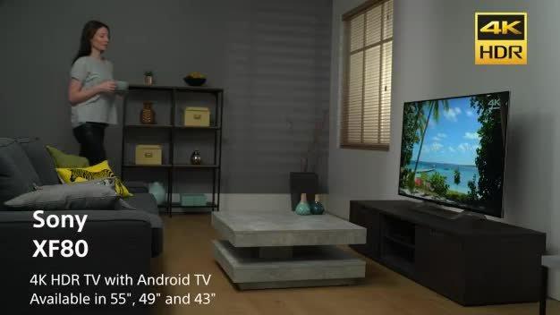 Sony Bravia 55 Inch KD55XF8096 Smart 4K Ultra HD TV with HDR