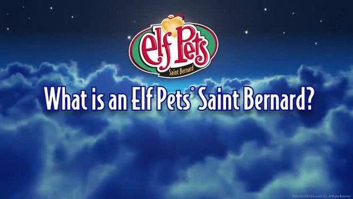 buy the elf on the shelf pets st bernard tradition teddy bears and soft toys argos